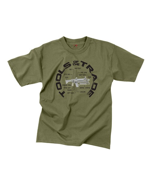 Rothco 60540 Vintage Tools Of The Trade T-Shirt