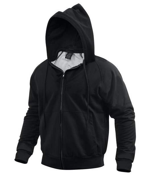 Rothco 6260 Thermal Lined Hooded Sweatshirt