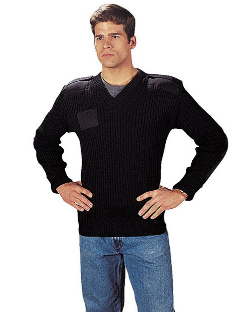 Rothco 6344 G.I. Type Wool V-Neck Sweater