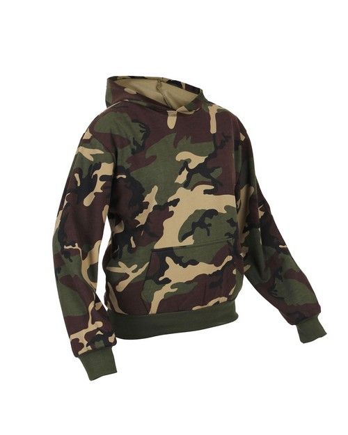 Rothco 6490 Kids Camo Pullover Hooded Sweatshirt