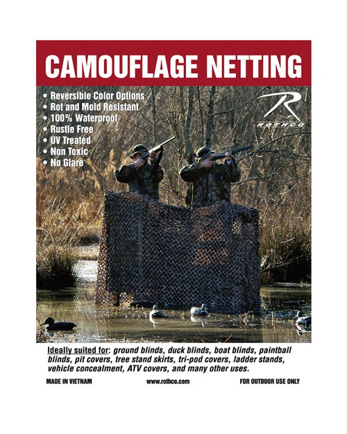 Rothco 6503 Military Type Camo Net