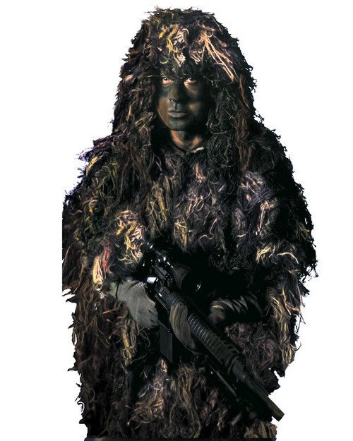 Rothco 65110 Bushrag The Complete Ghillie Suit Kit
