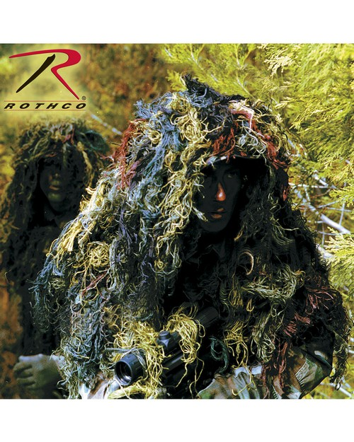 Rothco 65129 Bushrag Ultra Light Camo Netting Kit