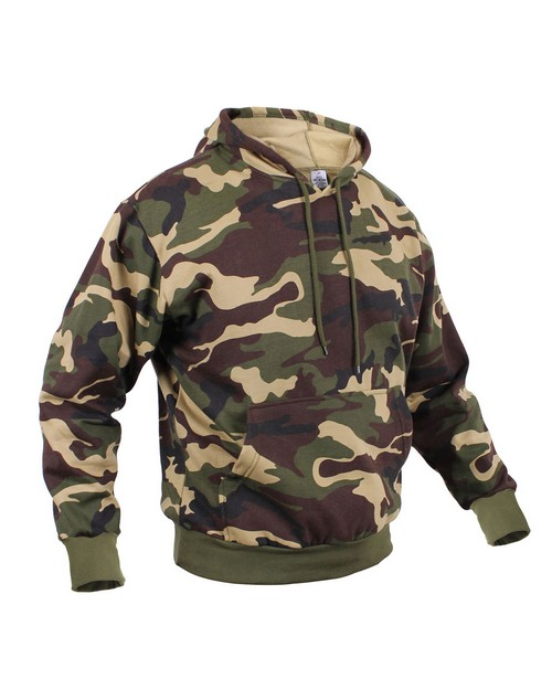 Rothco 6525 Camo Pullover Hooded Sweatshirt