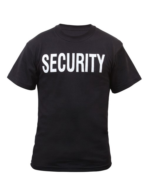 Rothco 6604 2-Sided Security T-Shirt