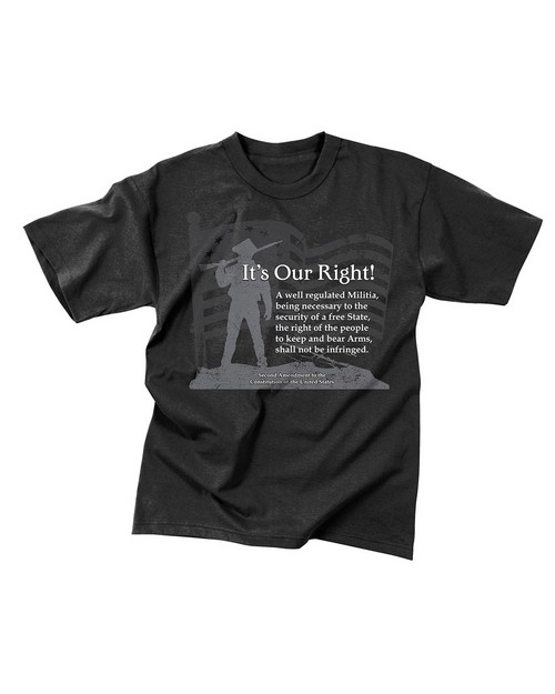Rothco 66137 Vintage It's Our Right T-Shirt