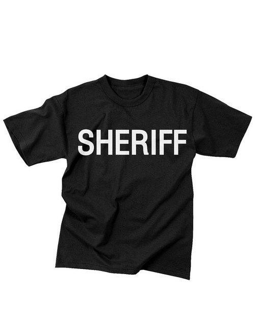 Rothco 6618 2-Sided Sheriff T-Shirt