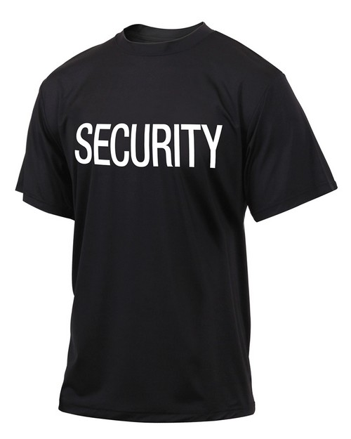 Rothco 66260 Quick Dry Performance Security T-Shirt