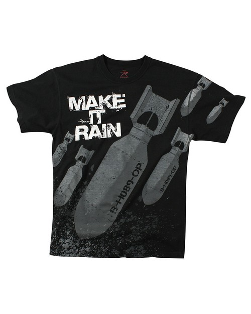 Rothco 66380 Make It Rain Bombs T-shirt