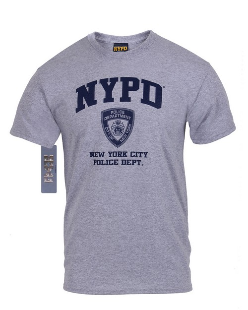 Rothco 6650 Officially Licensed NYPD Physical Training T-Shirt