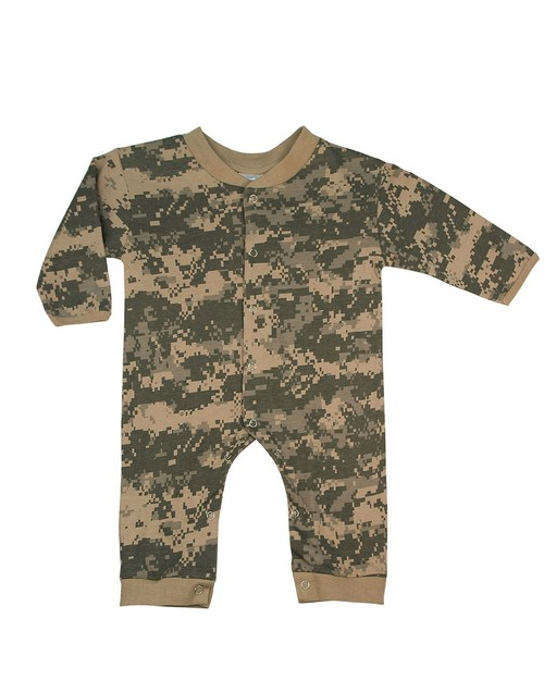 Rothco 67057 Infant Camo Long Sleeve and Leg One-piece Bodysuit
