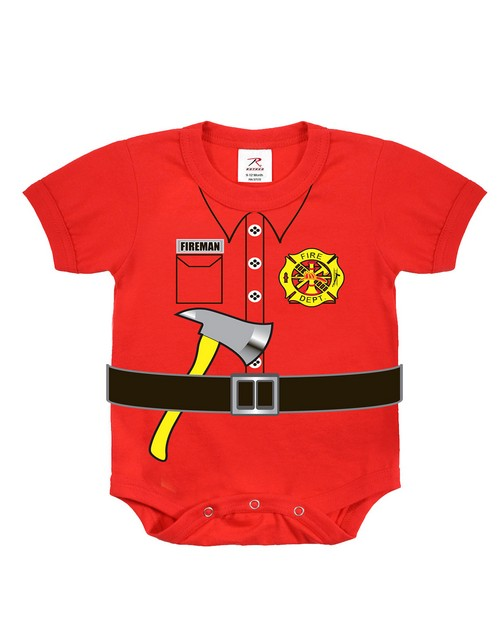 Rothco 67097 Infant Fireman One-piece