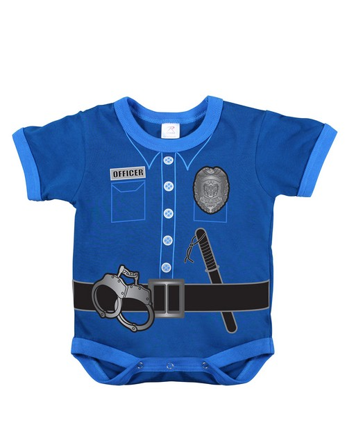 Rothco 67099 Infant One Piece / Police Uniform - Navy