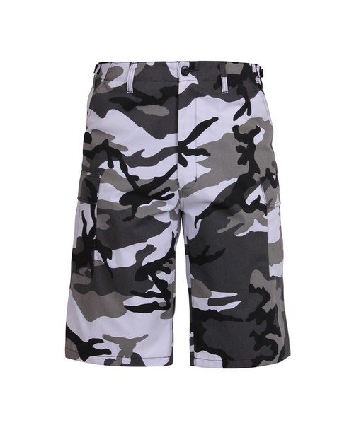 Rothco 7168 Long Length Camo BDU Short