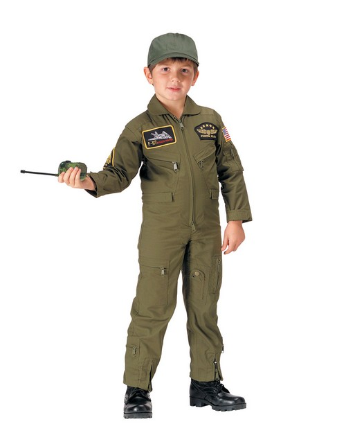 Rothco 7203 Kids Flight Coverall With Patches