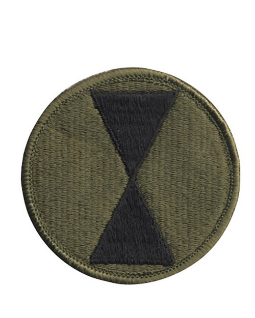 Rothco 72136 7th Infantry Division Patch