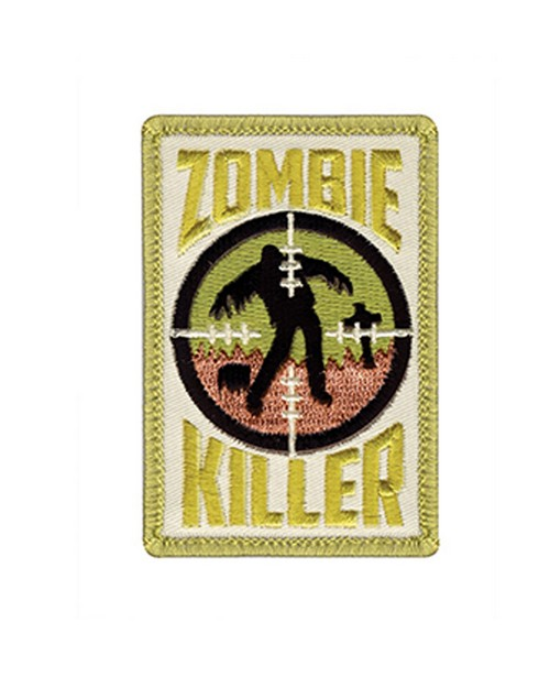 Rothco 72184 Zombie Killer Morale Patch