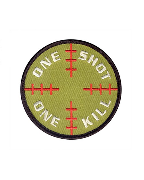 Rothco 72186 One Shot One Kill Morale Patch