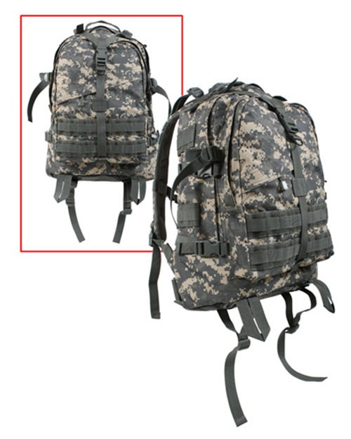 Rothco 7222 Large Camo Transport Pack