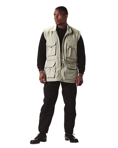 Rothco 7291 Convertible Safari Jacket