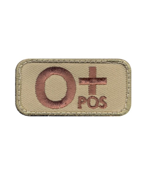 Rothco 73191 O Positive Blood Type Morale Patch