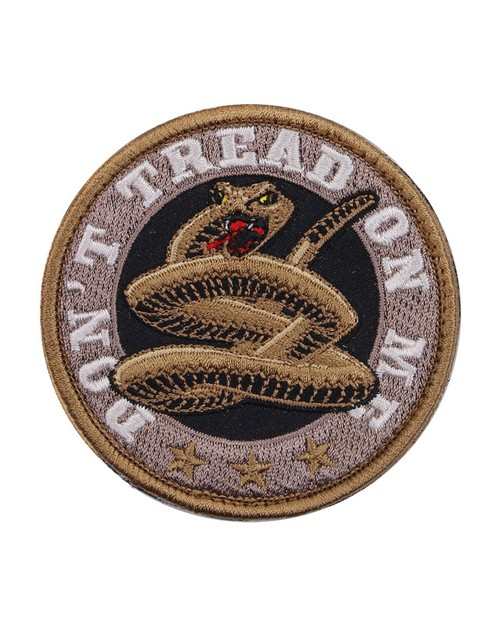 Rothco 73193 Don't Tread On Me Round Morale Patch