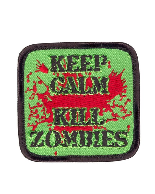 Rothco 73196 Keep Calm Kill Zombies Morale Patch