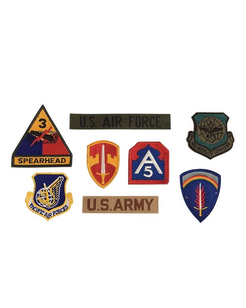 Rothco 7489 G.I. Military Assorted Patches
