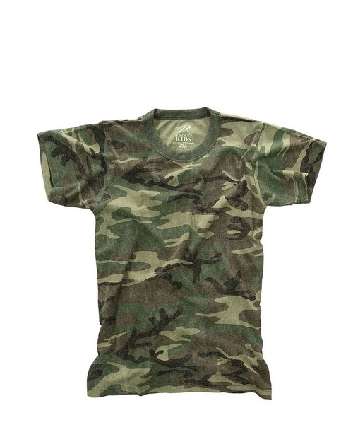 Rothco 7603 Vintage Camo T-Shirt - Youth