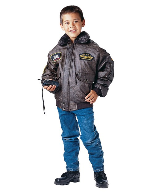 Rothco 7675 Kids WWII Aviator Flight Jacket