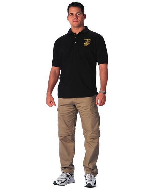 Rothco 7696 Military Embroidered Polo Shirts