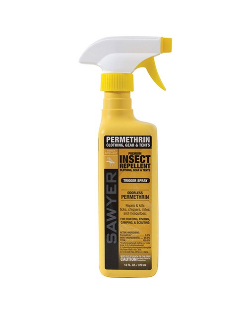 Rothco 7712 Sawyer Permethrin Clothing Insect Repellent Trigger Spray