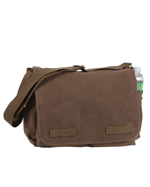 Rothco 8154 Vintage Washed Canvas Messenger Bag