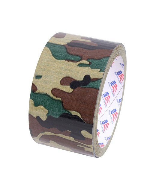 Rothco 8220 2 Woodland Camo Duct Tape