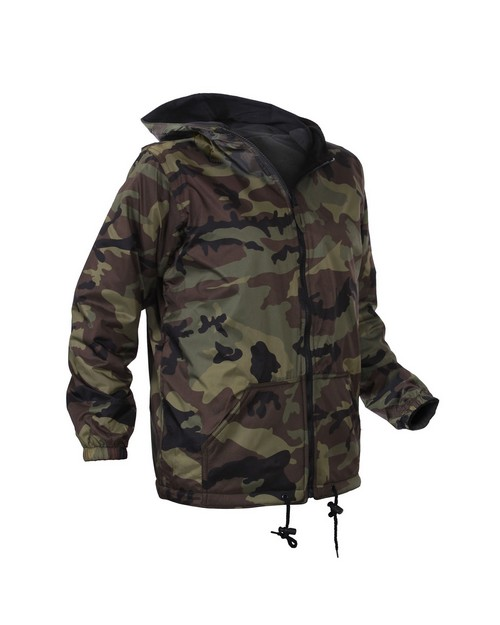 Rothco 8275 Kids Reversible Camo Jacket With Hood