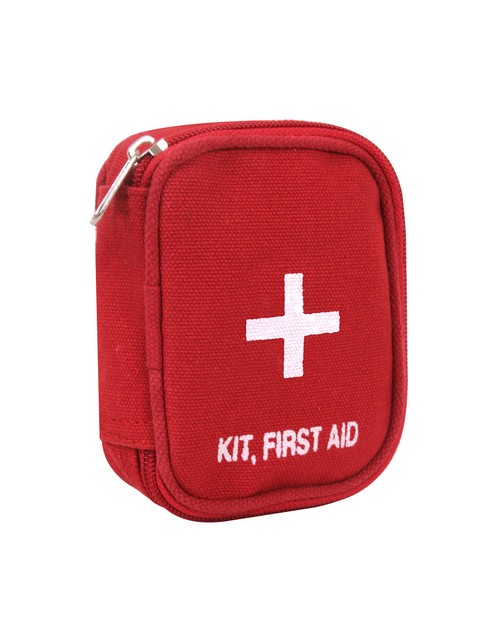 Rothco 8325 Military Zipper First Aid Kit Pouch