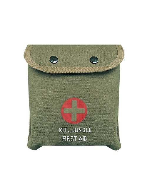 Rothco 8326 M-1 Jungle First Aid Kit Pouch