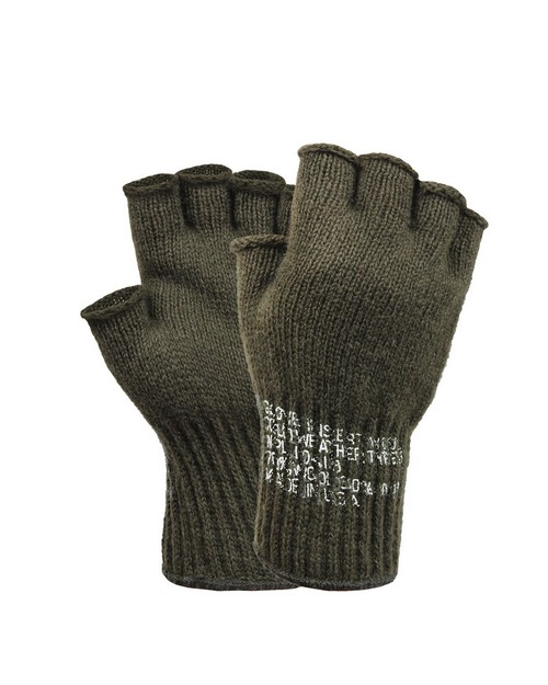 Rothco 8410 Fingerless Wool Gloves