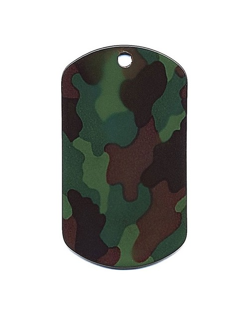 Rothco 8496 Camo Dog Tags