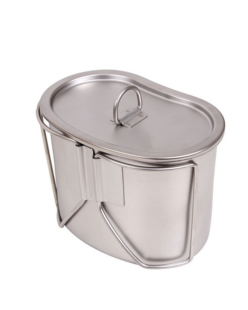 Rothco 8512 Stainless Steel Canteen Cup and Cover Set