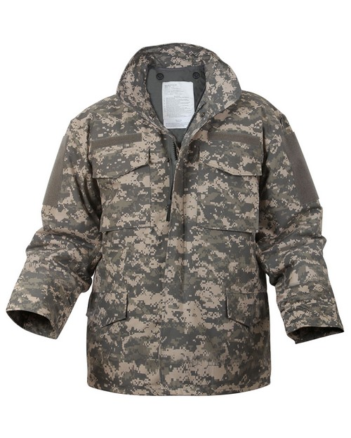 Rothco 8540 Digital Camo M-65 Field Jacket
