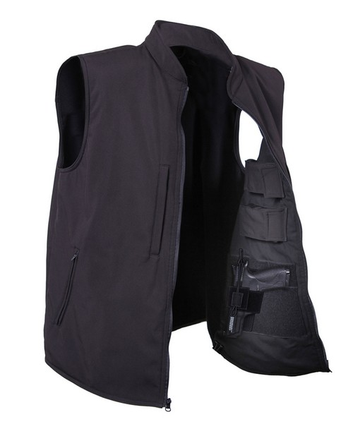 Rothco 86500 Concealed Carry Soft Shell Vest