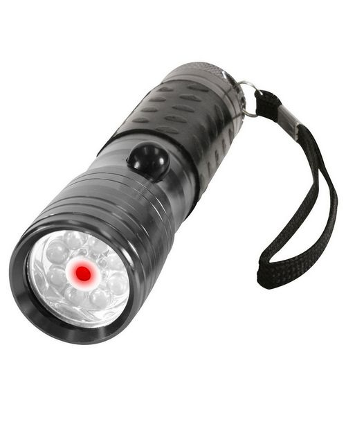 Rothco 880 LED Flashlight with Red Laser Pointer