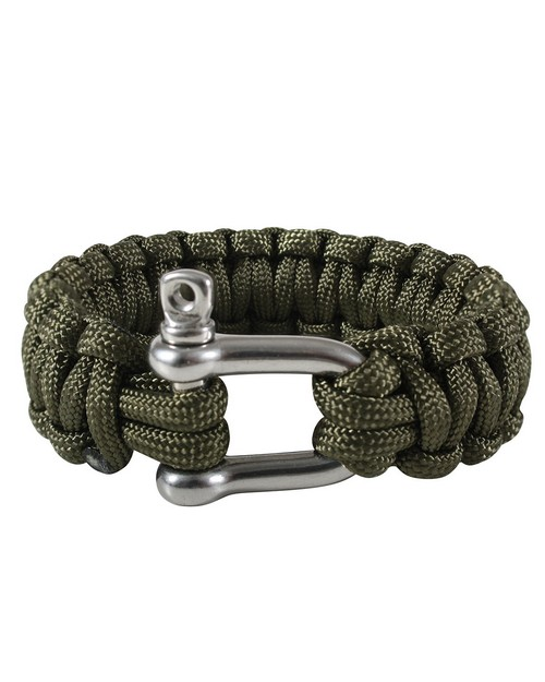 Rothco 912 Paracord Bracelet With D-Shackle