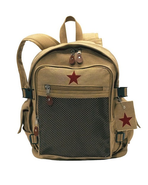 Rothco 9165 Vintage Canvas Backpack