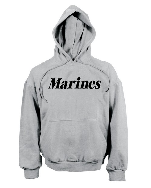 Rothco 9176 Marines Pullover Hooded Sweatshirt