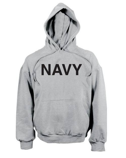 Rothco 9193 Navy Pullover Hooded Sweatshirt