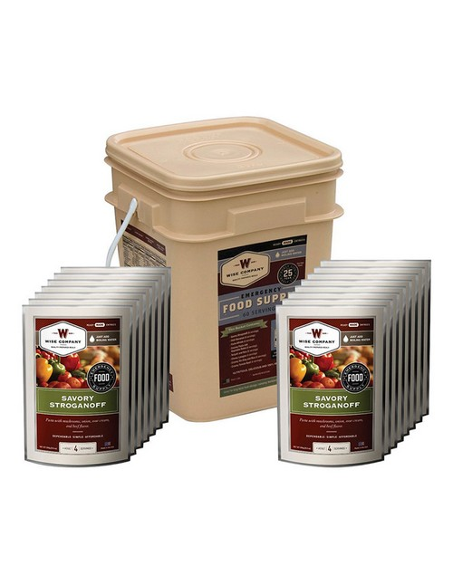 Rothco 9206 Wise 60 Serving Entree Only Grab and Go Bucket