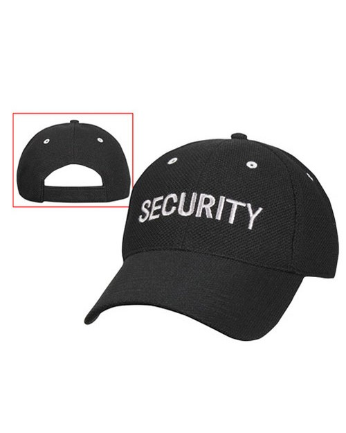 Rothco 9275 Security Low Profile Insignia Mesh Cap