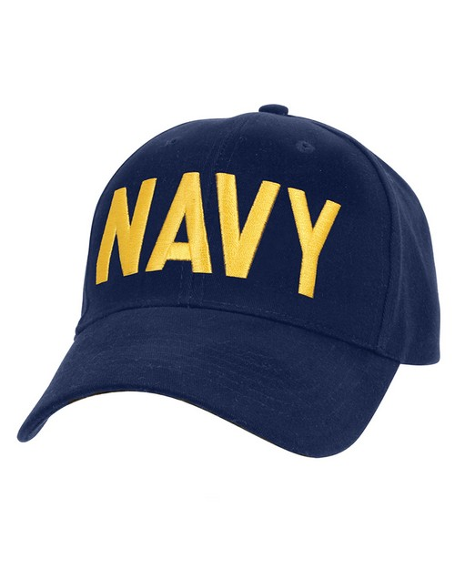 Rothco 9290 Navy Supreme Low Profile Insignia Cap